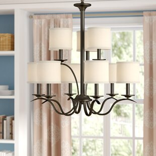 Best Choices Greenwell 9-Light Shaded Chandelier By Three Posts