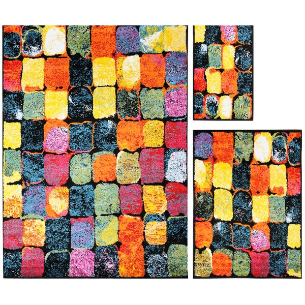 Carrasco Tile 3 Piece Rug Set by Latitude Run