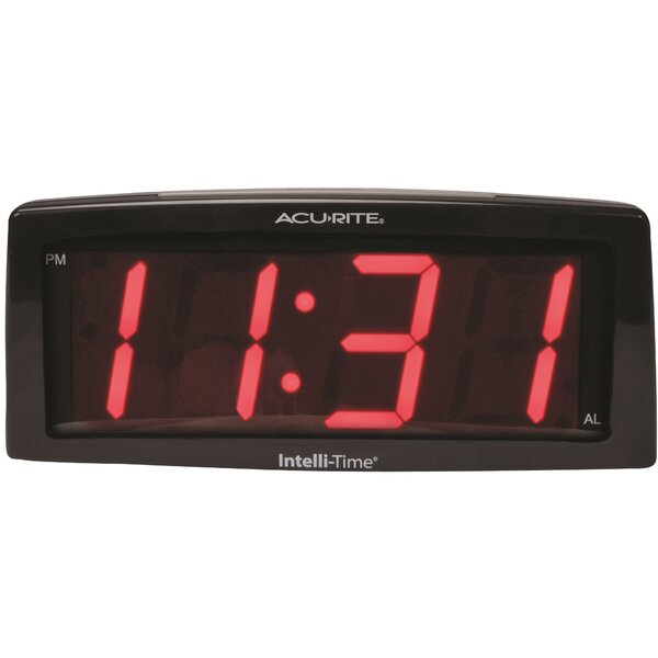 AcuRite LED SNF Alarm Clock by Chaney