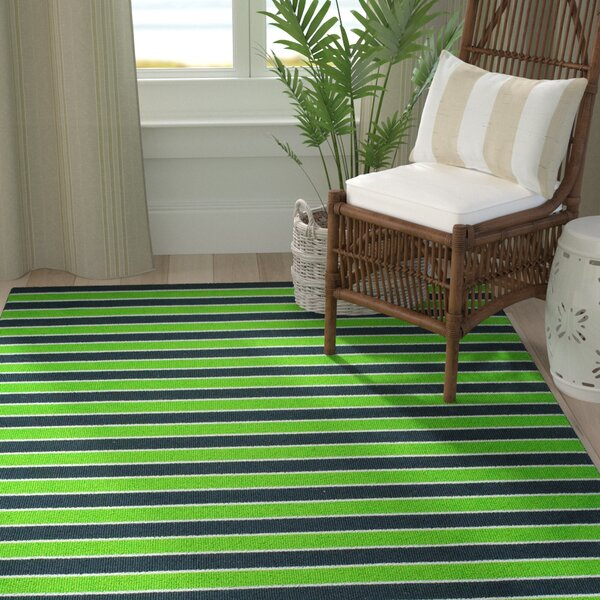 Primrose Green Area Rug by Breakwater Bay