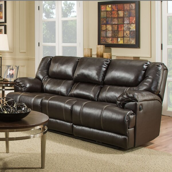 Starr Simmons Upholstery Reversible Reclining  Sectional by Darby Home Co