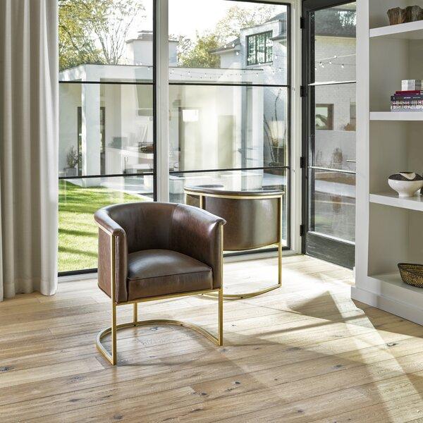Lovisa Barrel Chair by Everly Quinn