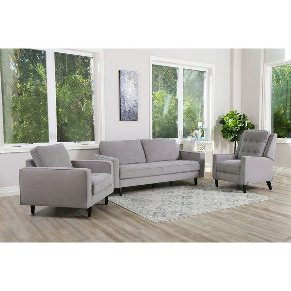Kohen 3 Piece Living Room Set by Brayden Studio