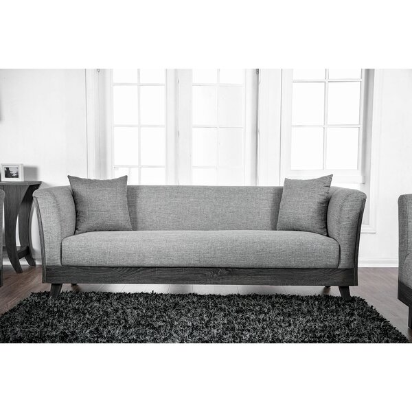 Cecillia Wooden Sofa by Gracie Oaks