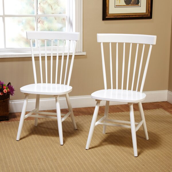 Royal Palm Beach Solid Wood Dining Chair (Set of 2) by Beachcrest Home