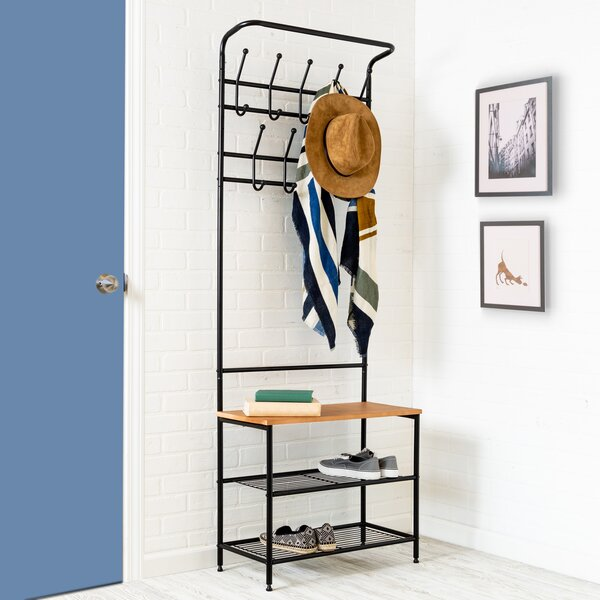 Entryway Storage Hall Tree by Honey Can Do