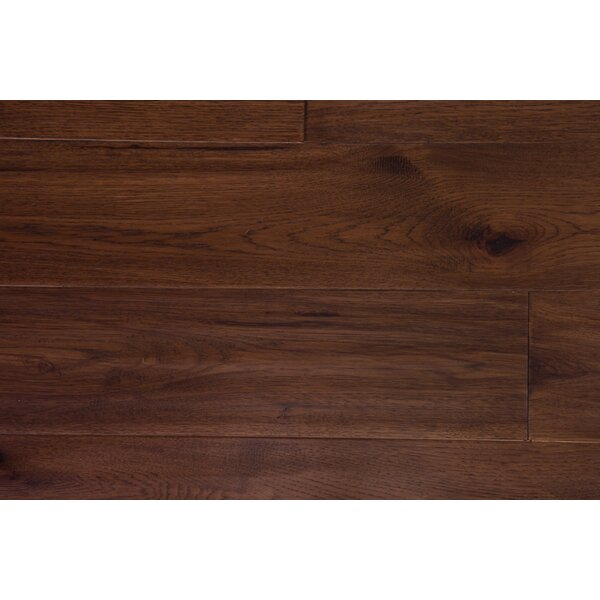 London 7-1/2 Engineered Hickory Hardwood Flooring in Toffee by Branton Flooring Collection