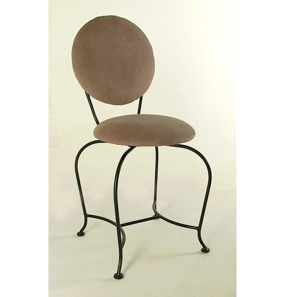 Vanity Swivel Stool with Back by Grace Collection