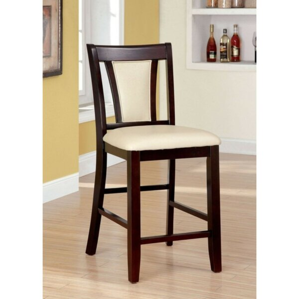 Brucelyn Wooden Upholstered Dining Chair (Set of 2) by World Menagerie