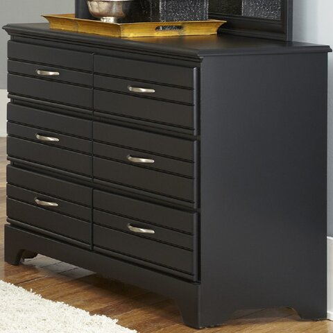 Della 6 Drawer Double Dresser by August Grove