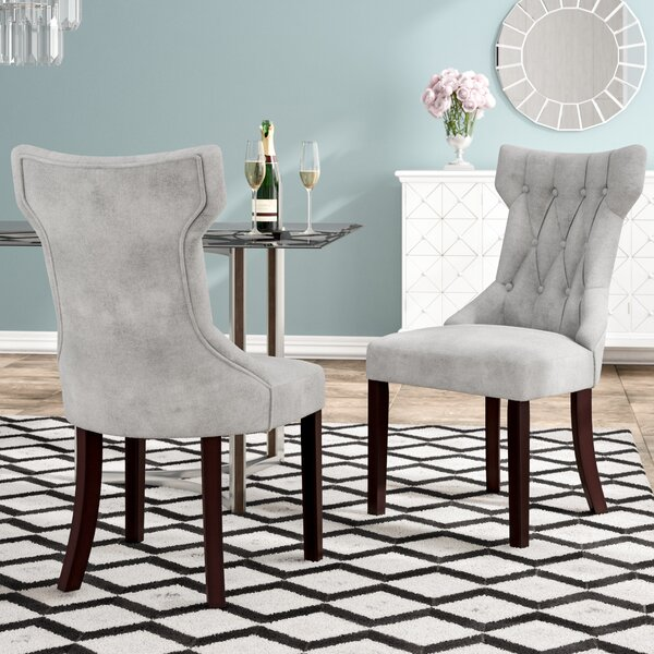 Caravilla Upholstered Dining Chair (Set of 2) by Willa Arlo Interiors