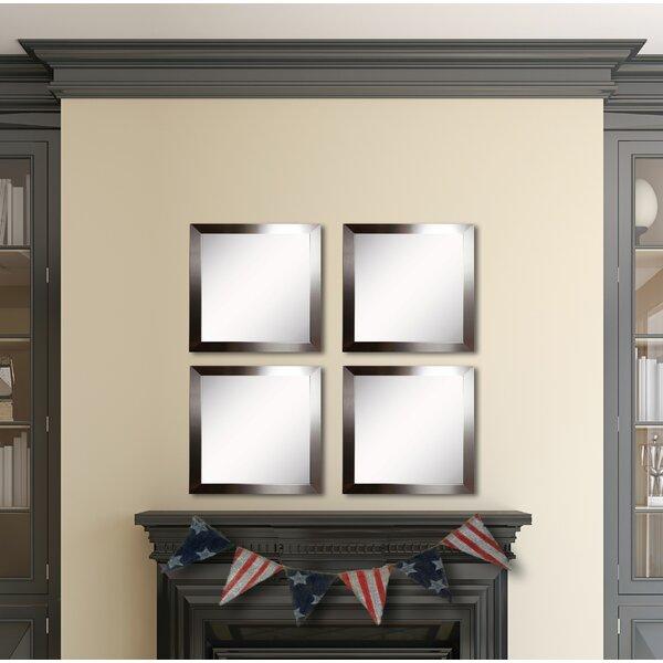 Osibodu Silver Petite Wall Mirror (Set of 4) by Orren Ellis