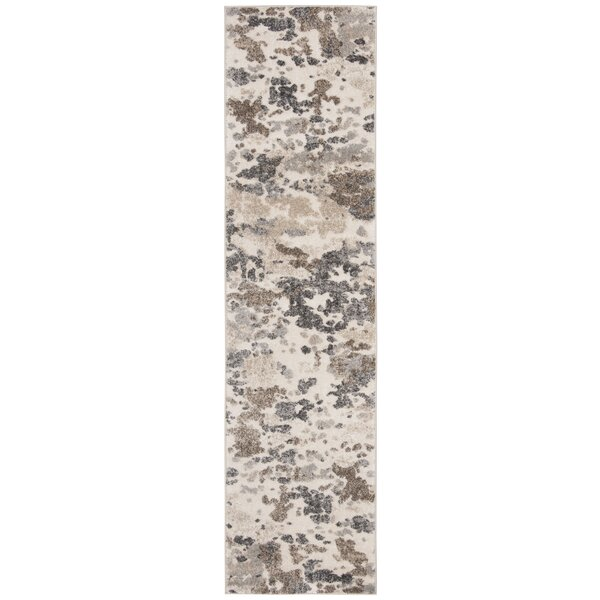 Capuano Taupe/Ivory Area Rug by Union Rustic