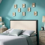 Southall Upholstered Panel Headboard by Three Posts™