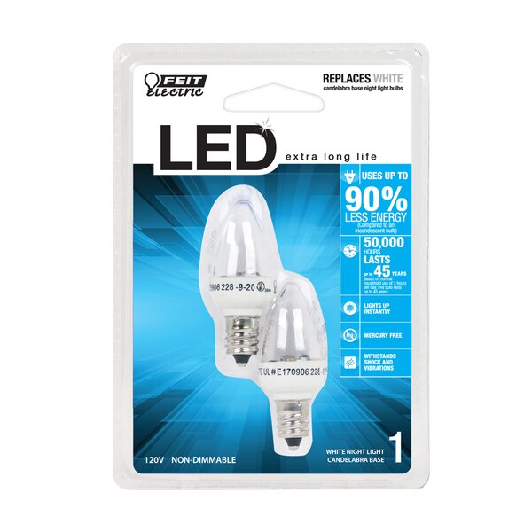 1W 120-Volt LED Light Bulb by FeitElectric