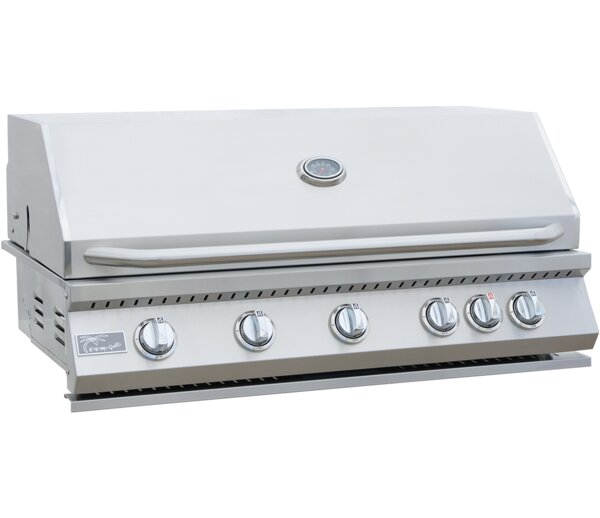 BBQ 5-Burner Built-In Convertible Gas Grill by Kok