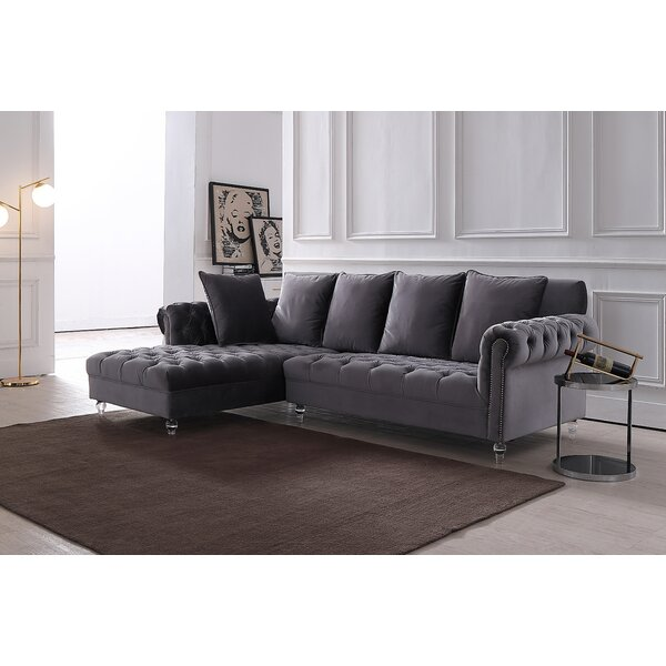 Iredell Modern Sectional by Everly Quinn
