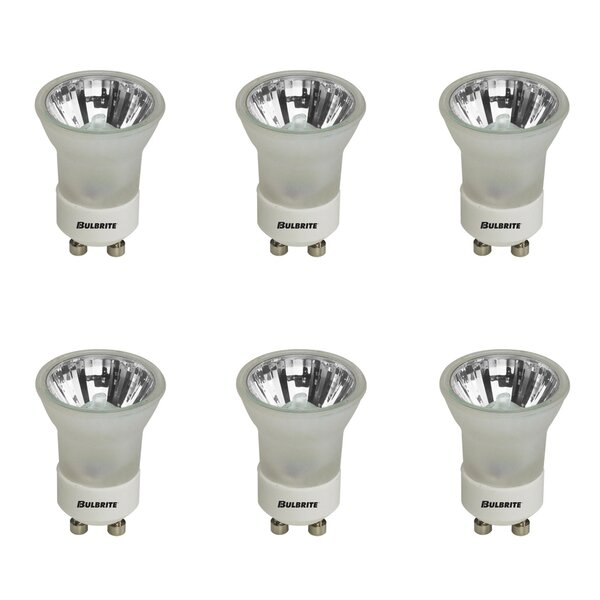 GU10 Dimmable Halogen Spotlight Light Bulb Gray/Smoke (Set of 6) by Bulbrite Industries