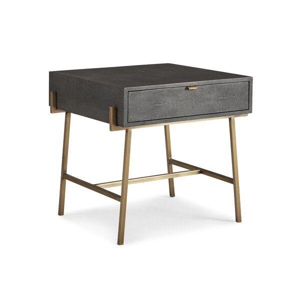 Frasier End Table with Storage by Brayden Studio