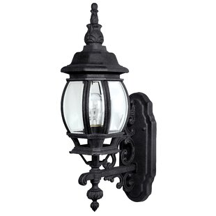 Find the perfect Herkimer 1-Light Outdoor Wall Lantern By Alcott Hill