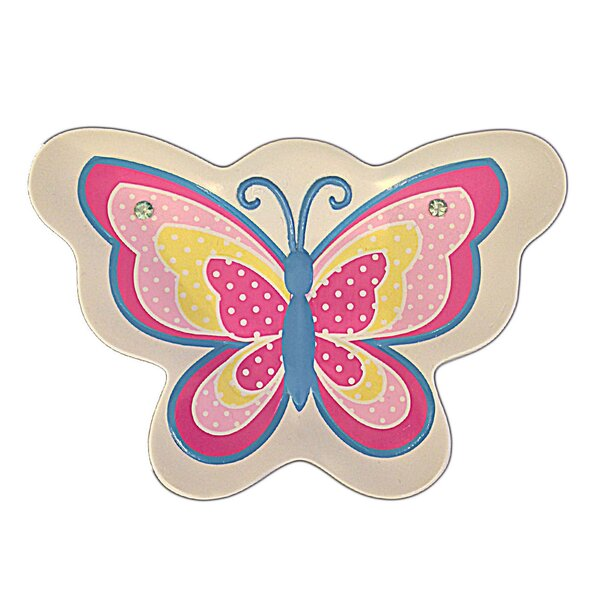 Butterfly Dots Soap Dish by Homewear Linens