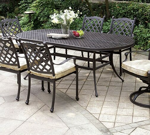 Meadowbrook Metal Dining Table by Darby Home Co