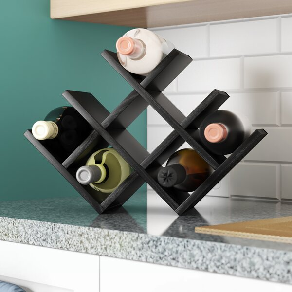 Butterfly 8 Bottle Tabletop Wine Rack by Kamenstein