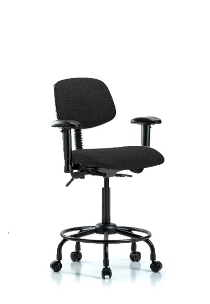 Shawna Round Tube Base Ergonomic Office Chair by Symple Stuff