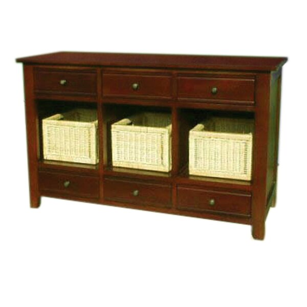 D-Art Collection Brown Console Tables