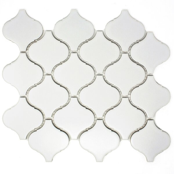Lantern 3 x 3 Porcelain Tile in White by Multile