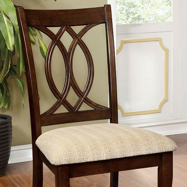 Yuri Upholstered Dining Chair (Set of 2) by Alcott Hill