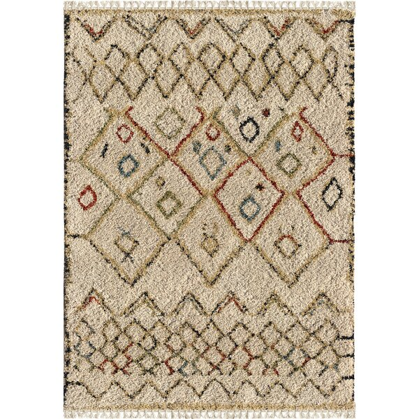 Darmstadt Ivory Area Rug by Foundry Select