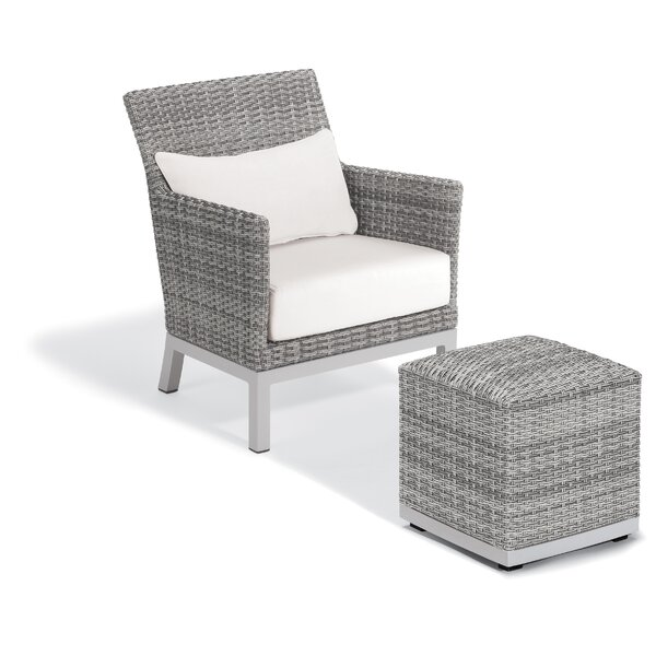 Saleem Patio Chair with Cushion by Brayden Studio Brayden Studio