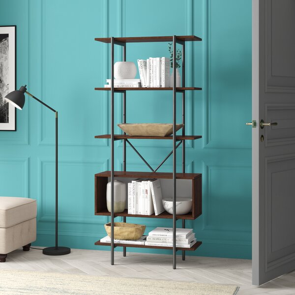 Langley Street™ Grey Bookcases