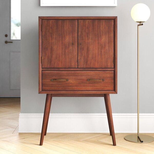 Morris 4 Bottle Floor Bar Cabinet By Foundstone™