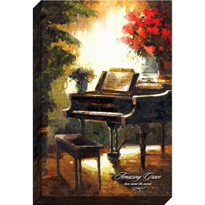 Amazing Grace Giclee by Phil Cloth Print on Wrapped Canvas by Carpentree