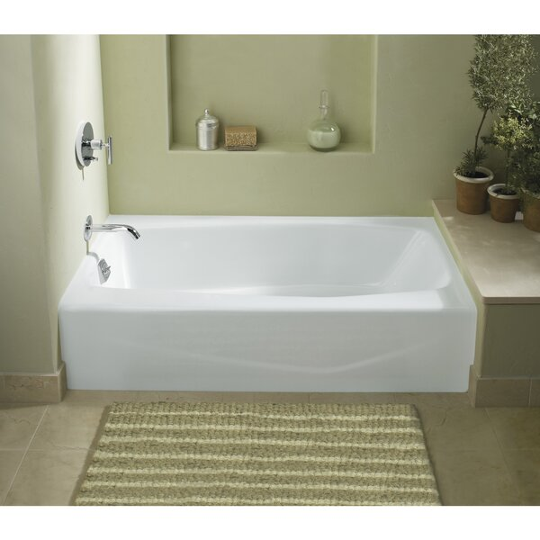 Villager 60 x 30 Alcove Soaking Bathtub by Kohler