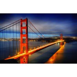 Golden Gate Bridge - San Francisco Photographic Print by Prestige Art Studios