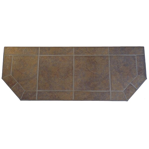 Steel Africana Extension Hearth Pad by Tretco