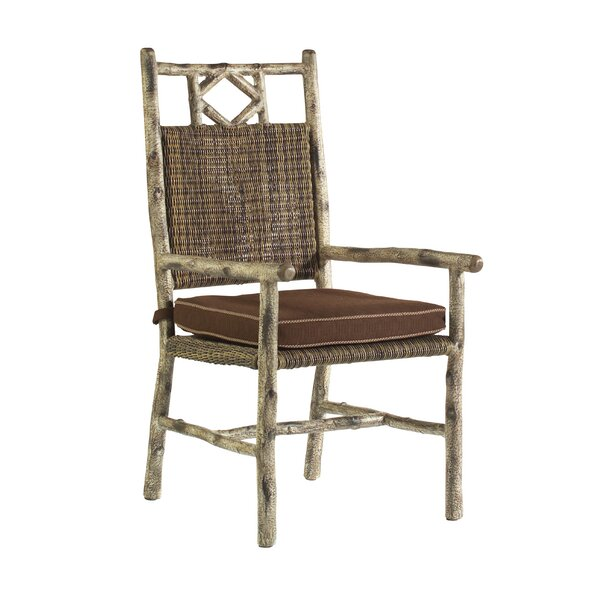 River Run Patio Dining Chair with Cushion by Woodard