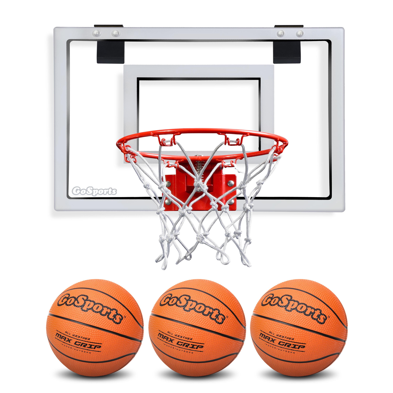 GoSports Basketball Door Hoop With 3 Premium Basketball And Pump U0026 Reviews    Wayfair