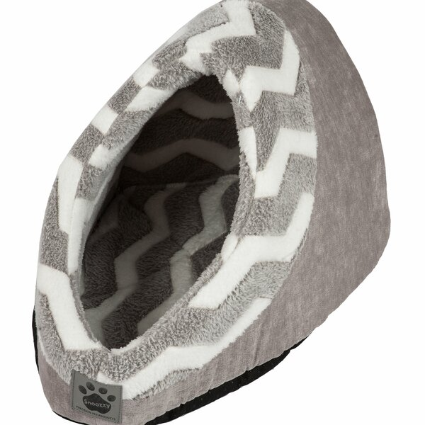 Maxine Hip as a Zig Zag Hide and Seek Bed by Tucker Murphy Pet