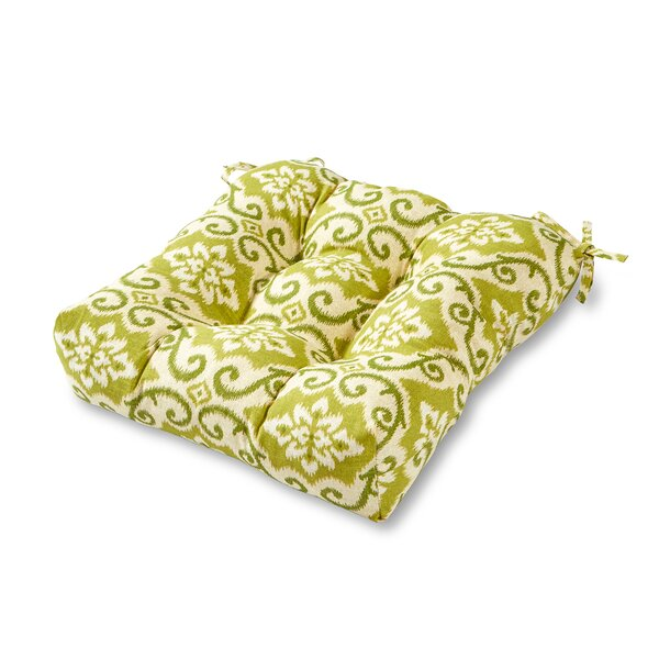 Knopp Indoor/Outdoor Dining Chair Cushion by Alcott Hill