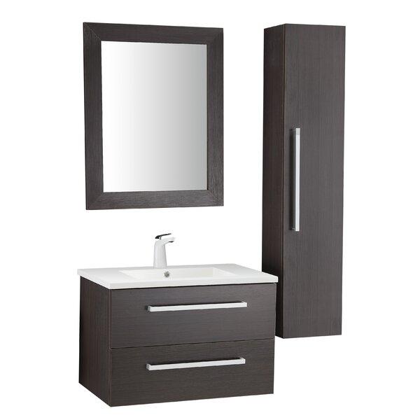 Engram 30 Single Bathroom Vanity Set with Mirror by Orren Ellis