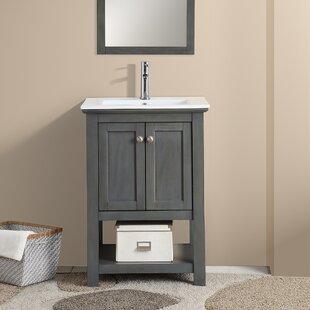 Compare & Buy Cambria Manchester 24 Single Bathroom Vanity Set ByFresca