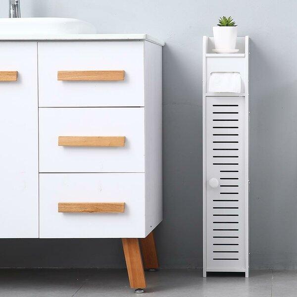 Gram 6.69'' W x 31.5'' H x 6.1'' D Free-Standing Bathroom Cabinet