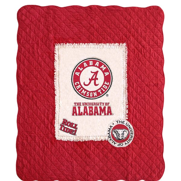 NCAA Cotton Throw by Great Finds
