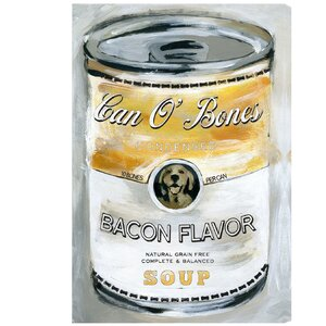 'Can O' Bones' Vintage Advertisement on Wrapped Canvas by Oliver Gal