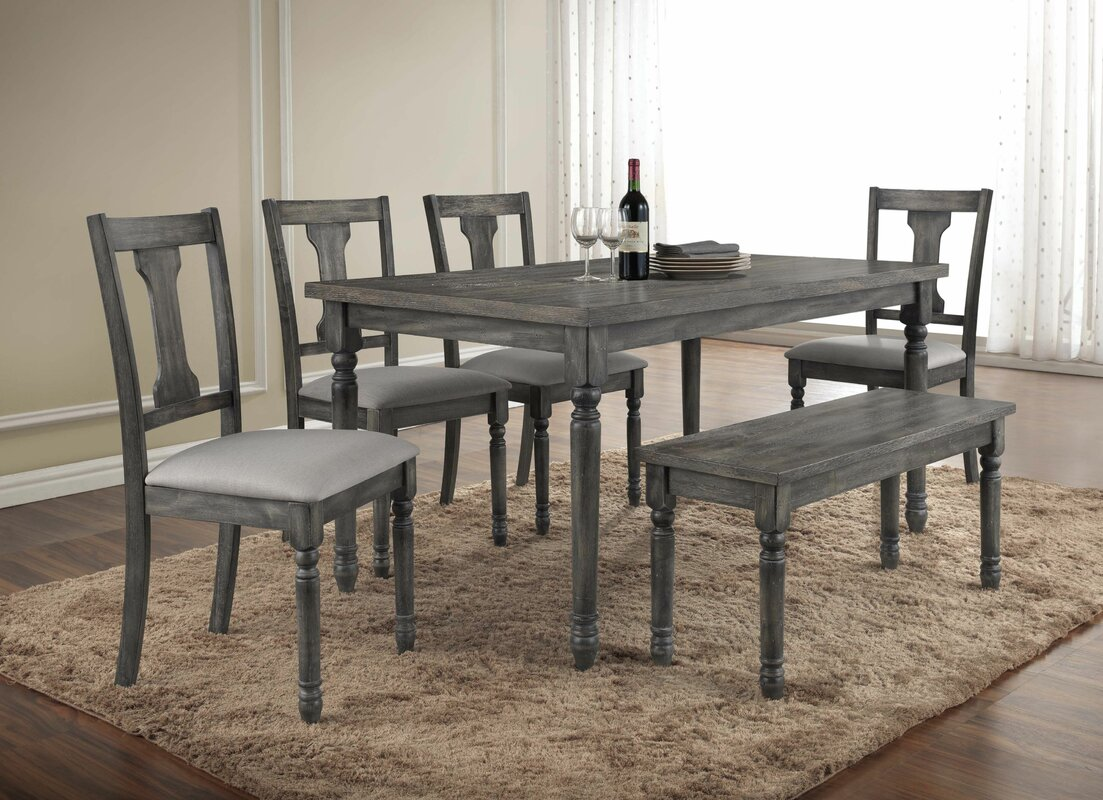 Lark Manor Parkland Piece Dining Set Reviews Wayfair