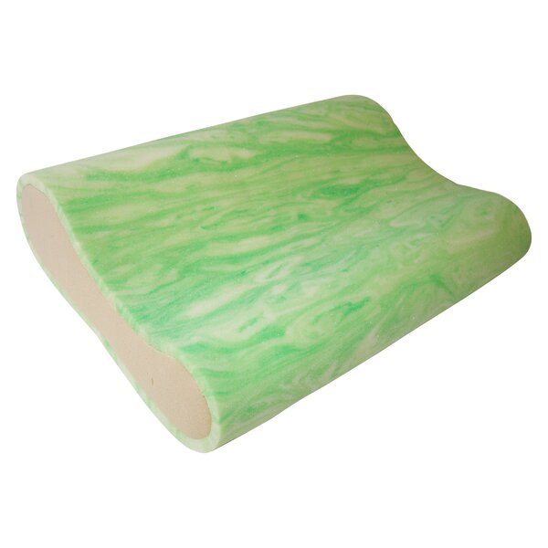Gel Rayon from Bamboo Memory Foam Pillow by EnviroTech